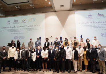 Ministerio de Trabajo, Fedomu y Liga Municipal acuerdan erradicar el trabajo infantil
