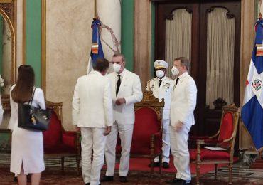 Presidente Abinader recibe cartas credenciales de seis nuevos embajadores