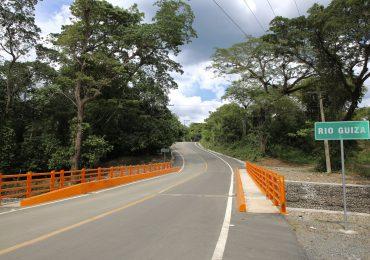 Gobierno Inaugura Puente de Mata Larga en SFM