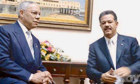 Leonel Fernández y otros políticos dominicanos lamentan muerte del estadounidense Colin Powell