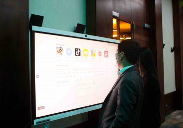 Huawei Technologies y TELEC se unen para presentar la nueva IdeaHub
