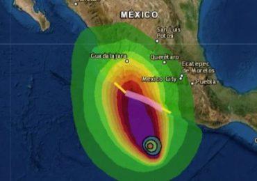 Huracán Rick en el Pacífico se acerca a costas de México