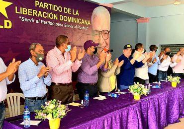 Dirigentes del PLD celebran productiva asamblea en El Seibo