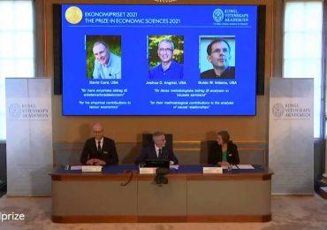 Nobel de Economía para tres especialistas en estudios empíricos del mercado laboral