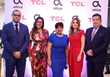 Altice recibe la nueva serie  smartphones TCL 20