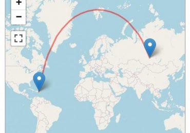 Rusos reclaman los destinos playeros dominicanos; Nuevo récord del vuelo directo más largo desde Siberia