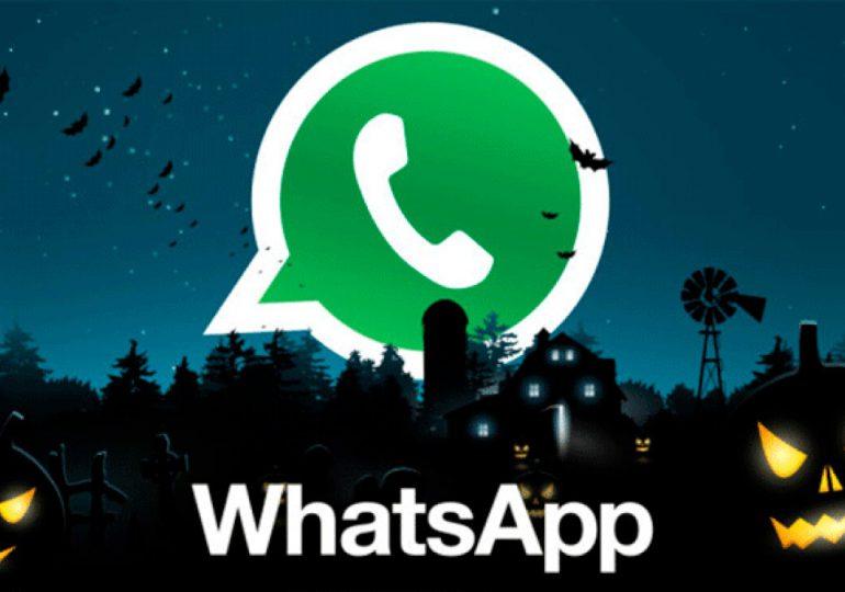 Así se puede poner el logo de WhatsApp en 'modo Halloween'