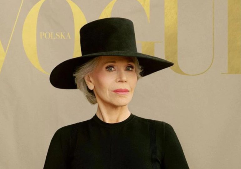 Jane Fonda, la actriz ícono de Hollywood, deslumbró como portada de Vogue a los 83 años