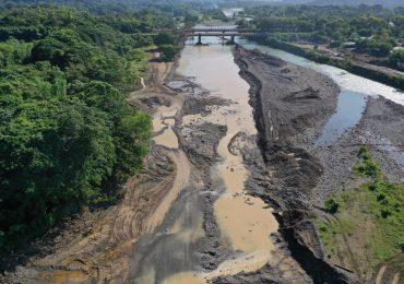 VIDEO   Medio Ambiente interviene río Yuna en Bonao tras irregularidades en readecuación