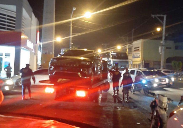 Incautan bocinas, bajos y vehículos de negocios ruidosos en SDE