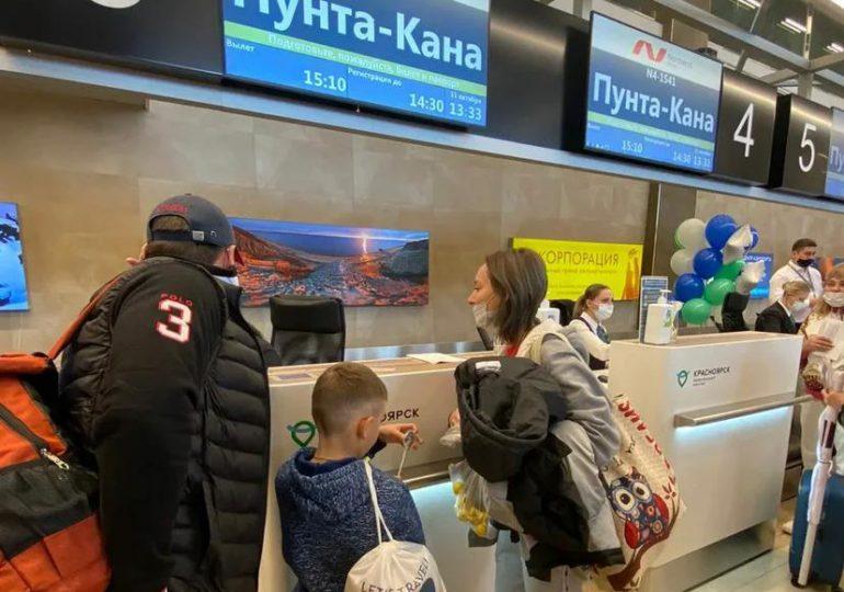Despega desde Krasnoyarsk a Punta Cana el vuelo más largo de operaciones comerciales hacia RD
