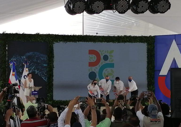 Presidente Abinader encabeza primer palazo para construcción de Cristo Park