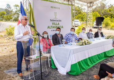 VIDEO | ETED reinicia construcción de subestación en Villa Altagracia