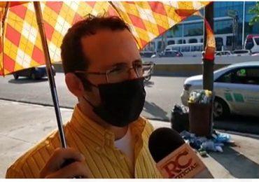 VIDEO | Ciudadanos inconformes con sentencia en caso Odebrecht