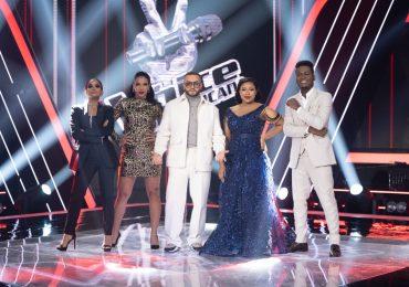 El público decidió, estos son los 12 participantes que continúan en The Voice Dominicana