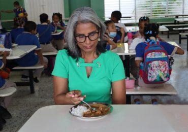 INABIE invierte más de 13 mil millones de pesos en almuerzo escolar
