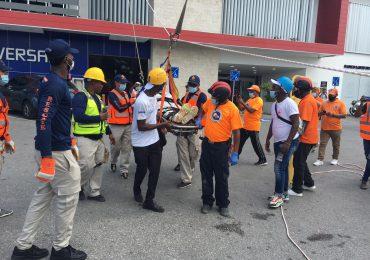 Organismos de Emergencia respondieron a múltiples eventos durante simulacro de terremoto en Punta Cana