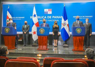 Presidente de RD, Costa Rica y Panamá emiten declaración conjunta para acciones urgentes a favor de Haití