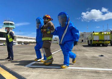 Realizan simulacro sobre ataque bioterrorista en aeropuerto de Puerto Plata