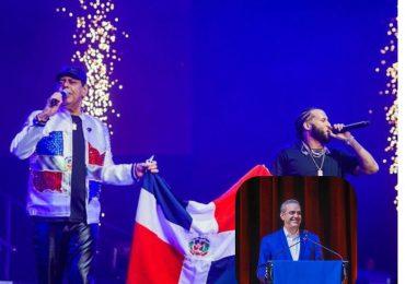Abinader felicita a «El Alfa» tras exitoso concierto en el Madison Square Garde