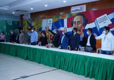 Fuerza del Pueblo juramenta vicesecretarios de la Secretaría de Desarrollo Rural