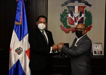 Alfredo Pacheco y Jaime Marte Martínez acuerdan trabajar en la modificación de la Ley 50-88