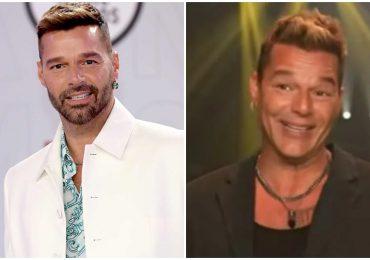 Ricky Martin despeja dudas sobre si se hizo o no un retoque en la cara