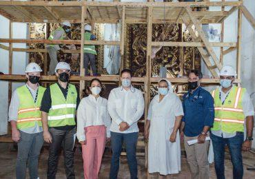 MIVHED y Senadora del Distrito supervisan los avances del Hospital Padre Billini