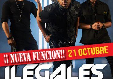 Abren nueva función para Ilegales en Hard Rock Live